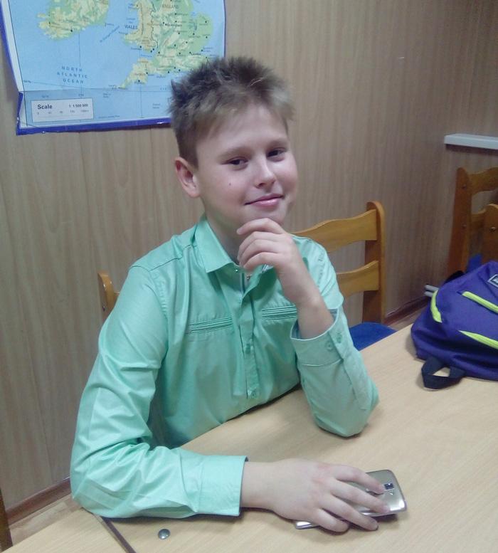 Блиц-интервью с учеником Артемом